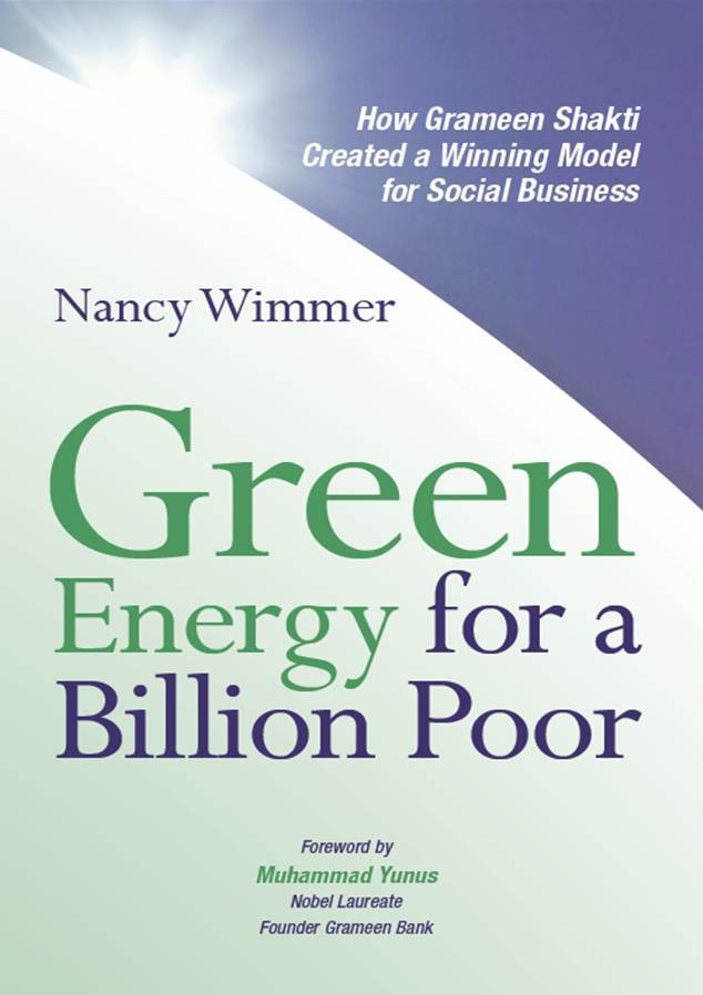 BOOK COVER Green Energy for a Billion Poor Nancy Wimmer